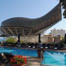 Arts Hotel Pool Terrace Barcelona