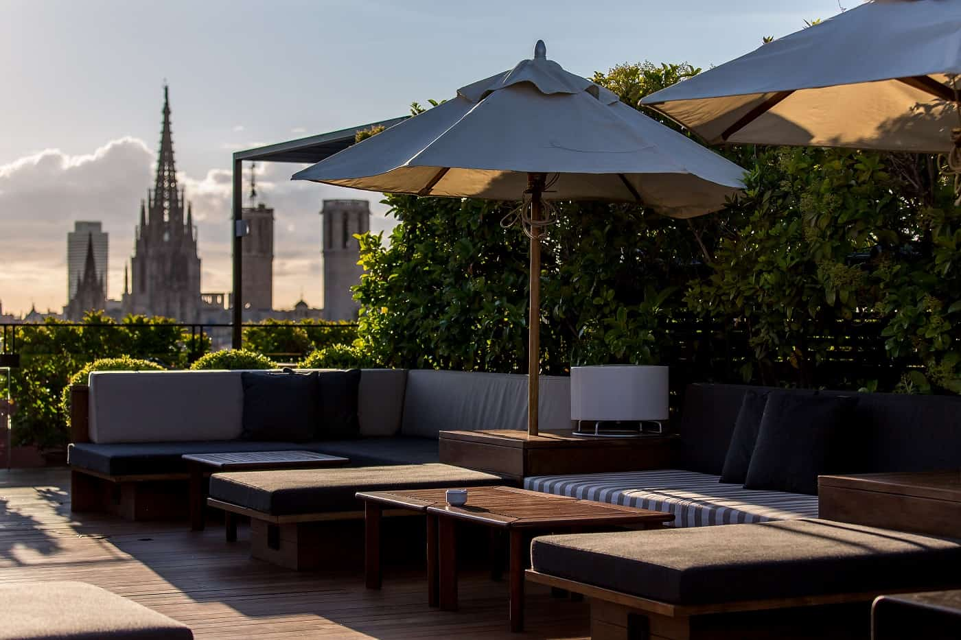 Top 22 roof terraces in barcelona barcelona navigator for What is a hotel terrace