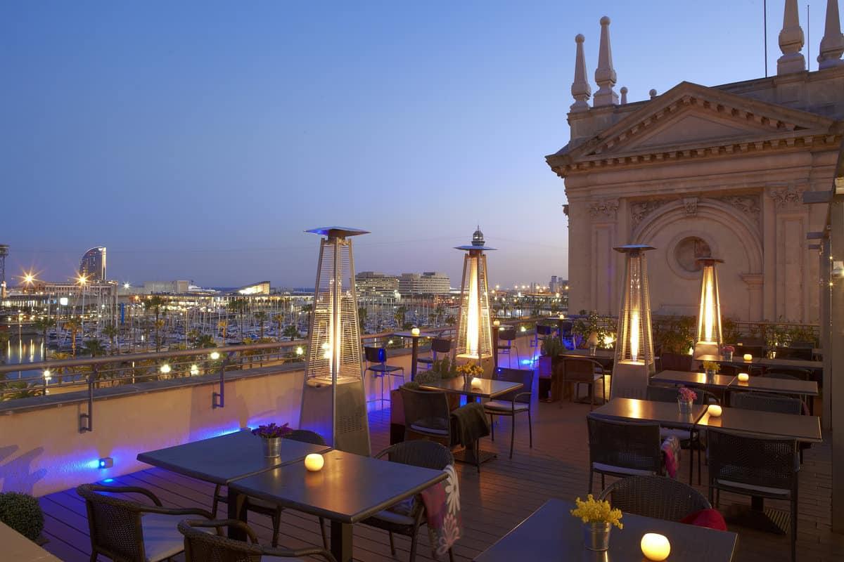 Top 20 roof terraces in barcelona barcelona navigator for Hotel barcelona barcelona