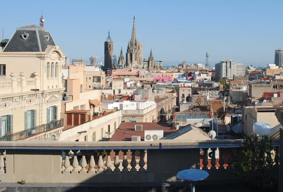Top 20 roof terraces in barcelona barcelona navigator - Chill out barcelona ...