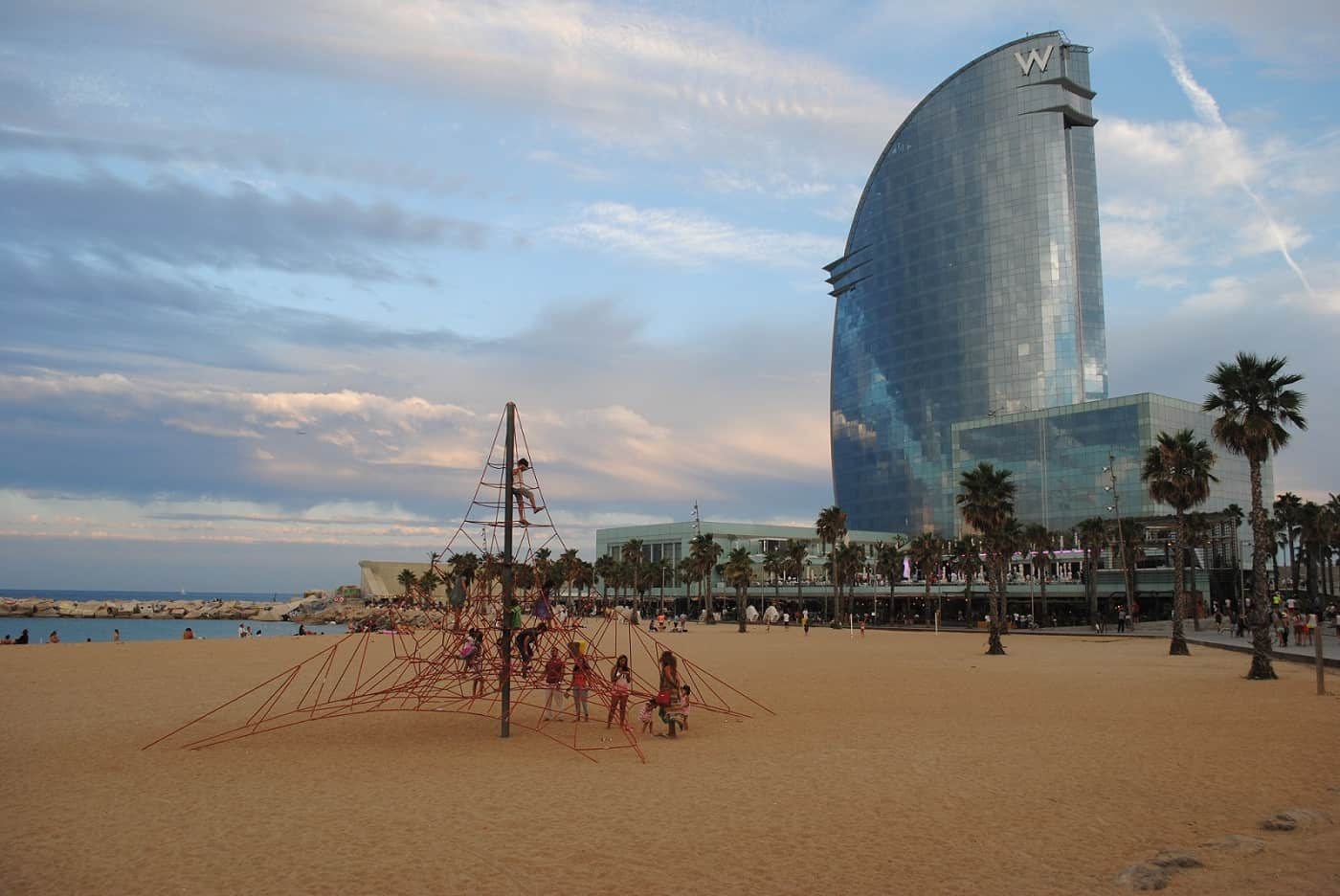 W hotel barcelona barcelona navigator for Hotel barcelona w
