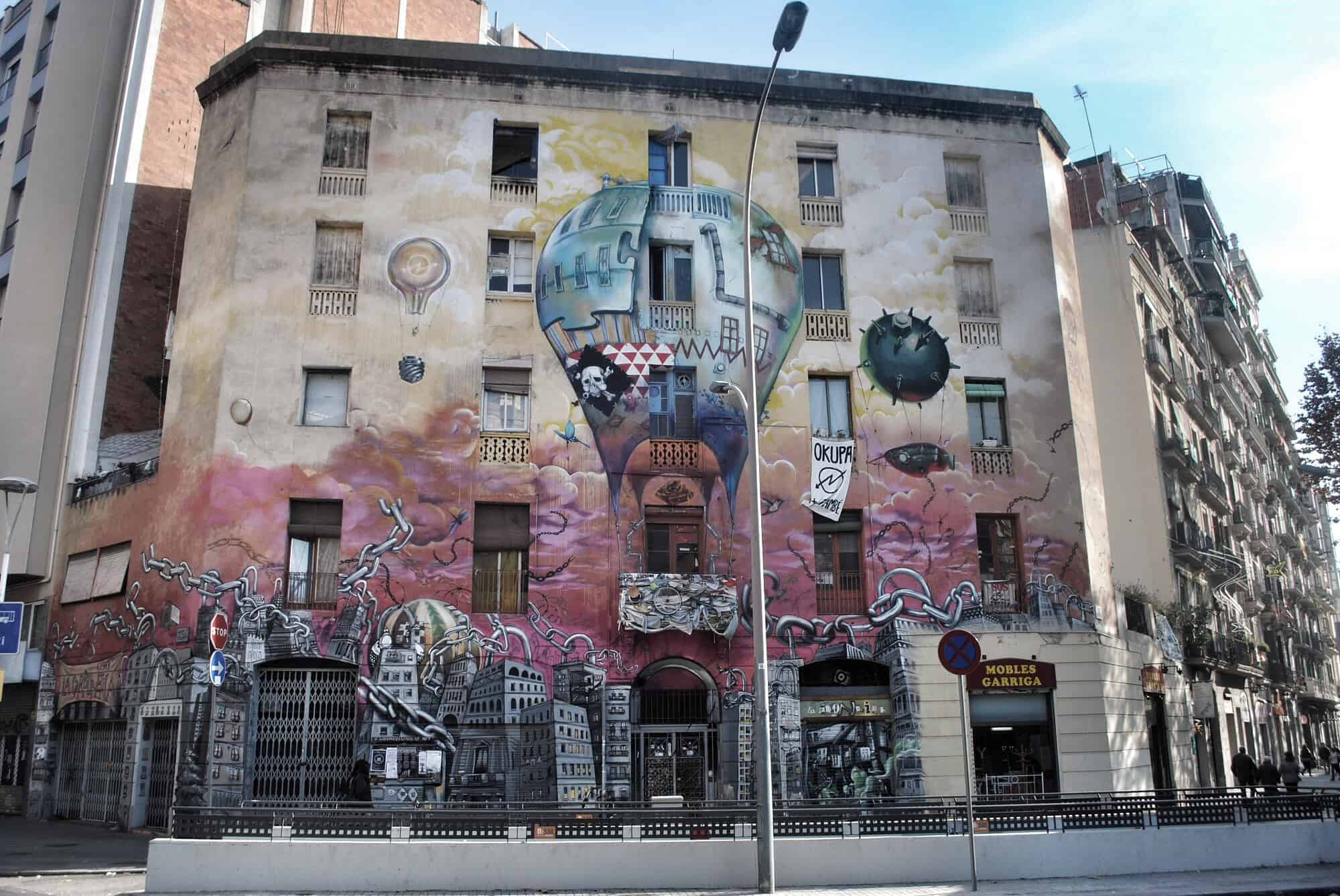 Barcelona Graffiti And Street Art Barcelona Navigator