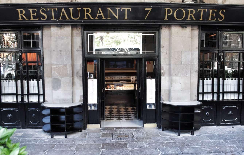 10 best paella restaurants in barcelona for 7 portes barcelona menu