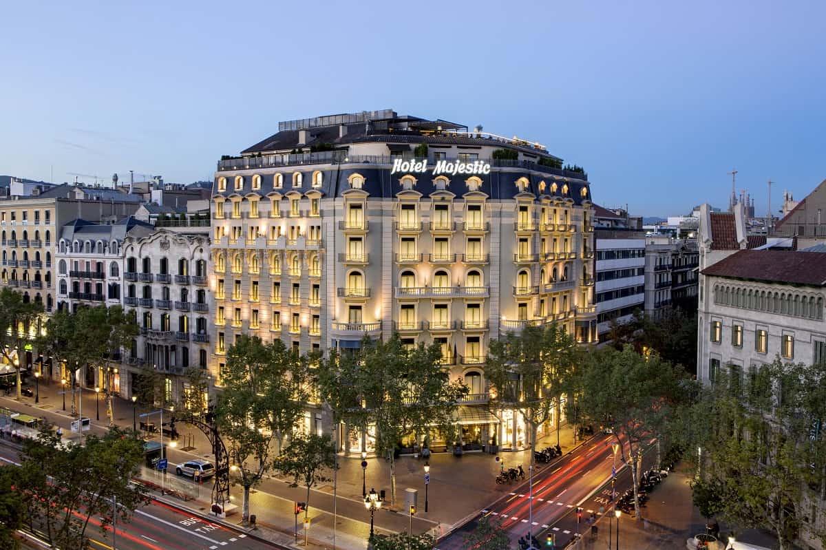 Majestic hotel spa barcelona barcelona navigator for Hotel de paris barcelona