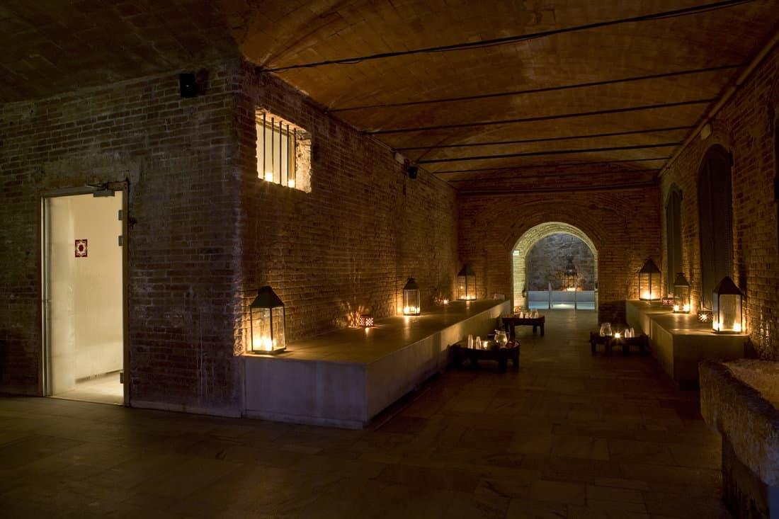 Mediterranean Massage Room