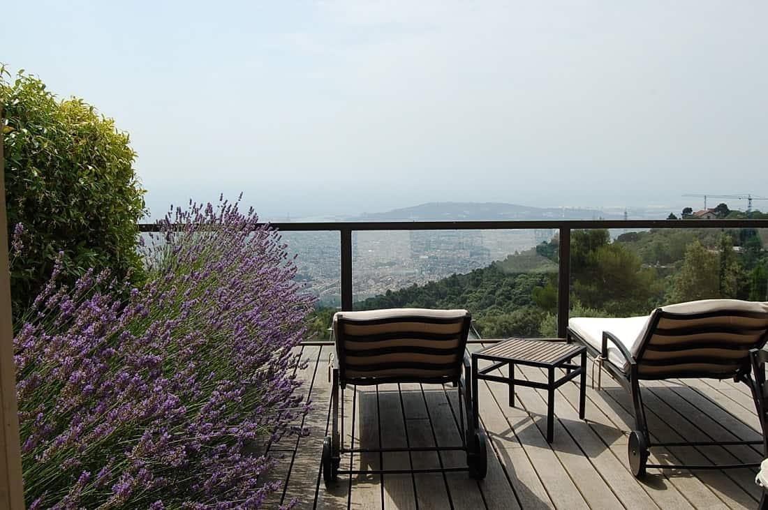 gran hotel la florida barcelona navigator On terrace view