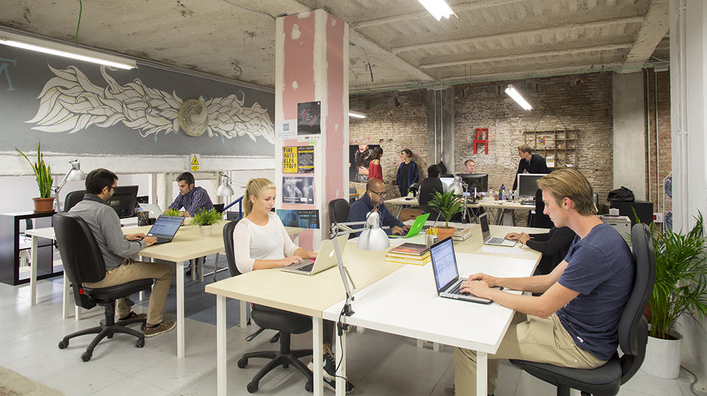 Barcelona coworking spaces barcelona navigator Coworking space design ideas