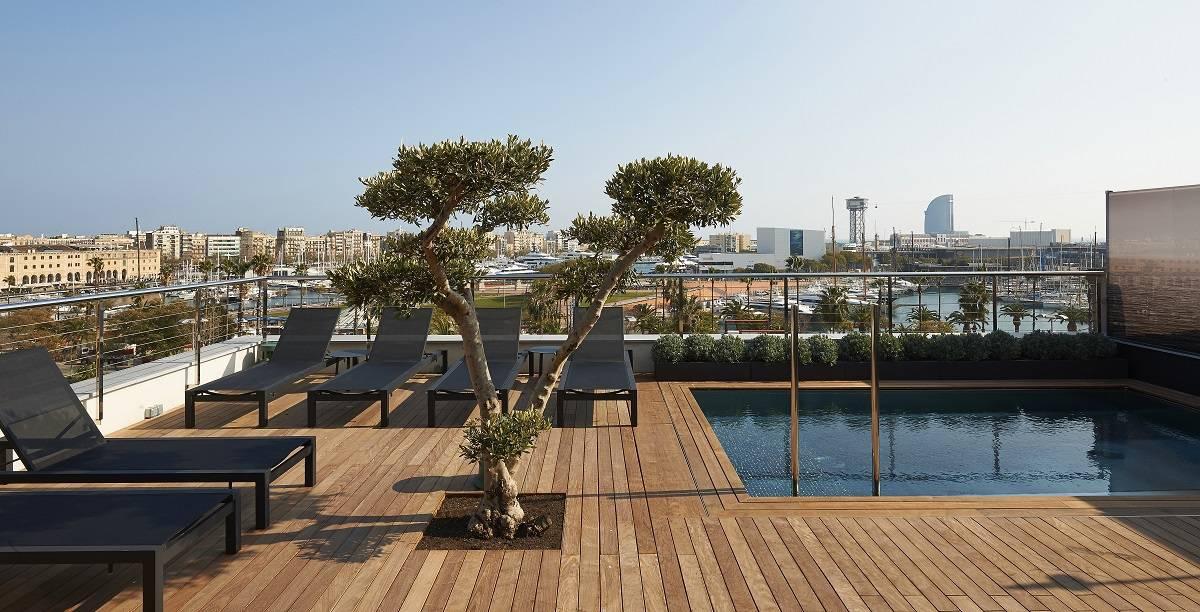 the serras hotel barcelona. Black Bedroom Furniture Sets. Home Design Ideas