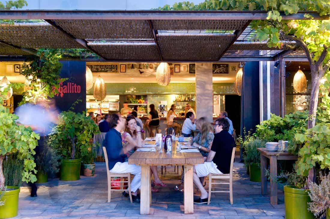 Gallito restaurant for Terrazas de hoteles en barcelona
