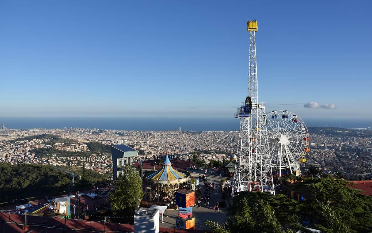 Tibidabo Amusement Park Barcelona Navigator