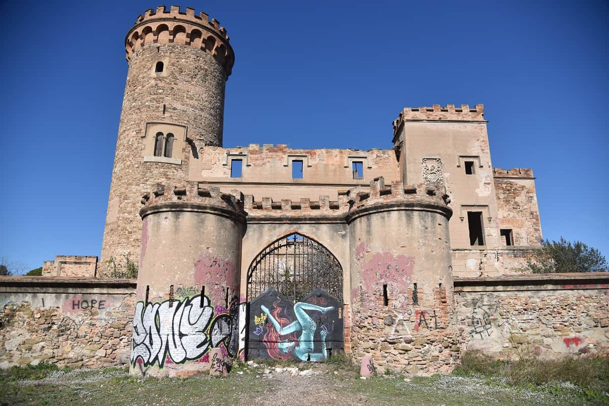 abandoned places in and around barcelona