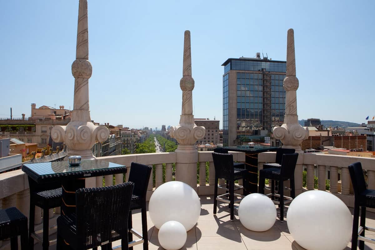 Hotel Casa Fuster Roof Terrace