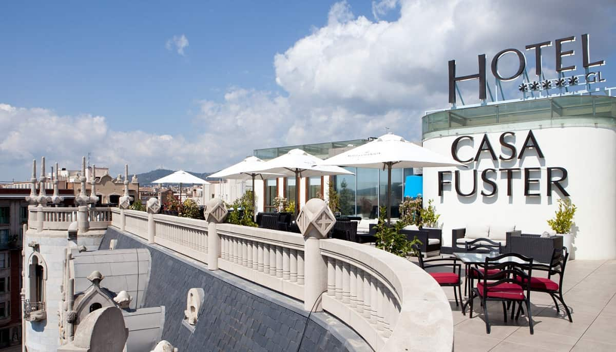 Hotel Casa Fuster Terrace
