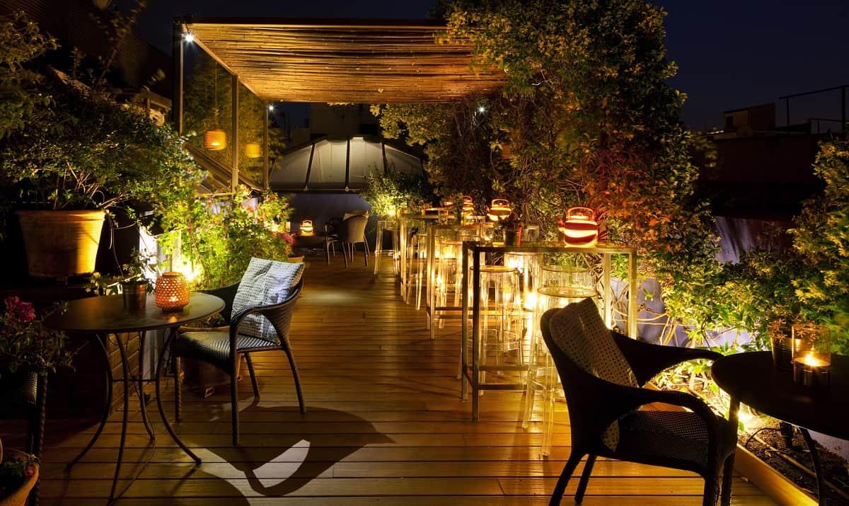 Hotel Neri Roof Terrace: Roba Estesa