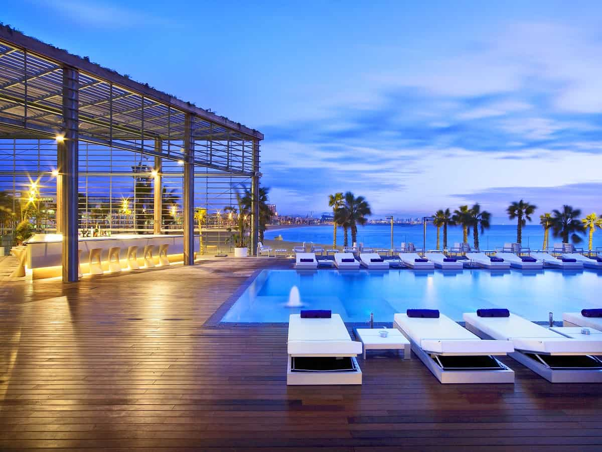 WET DECK at W Barcelona