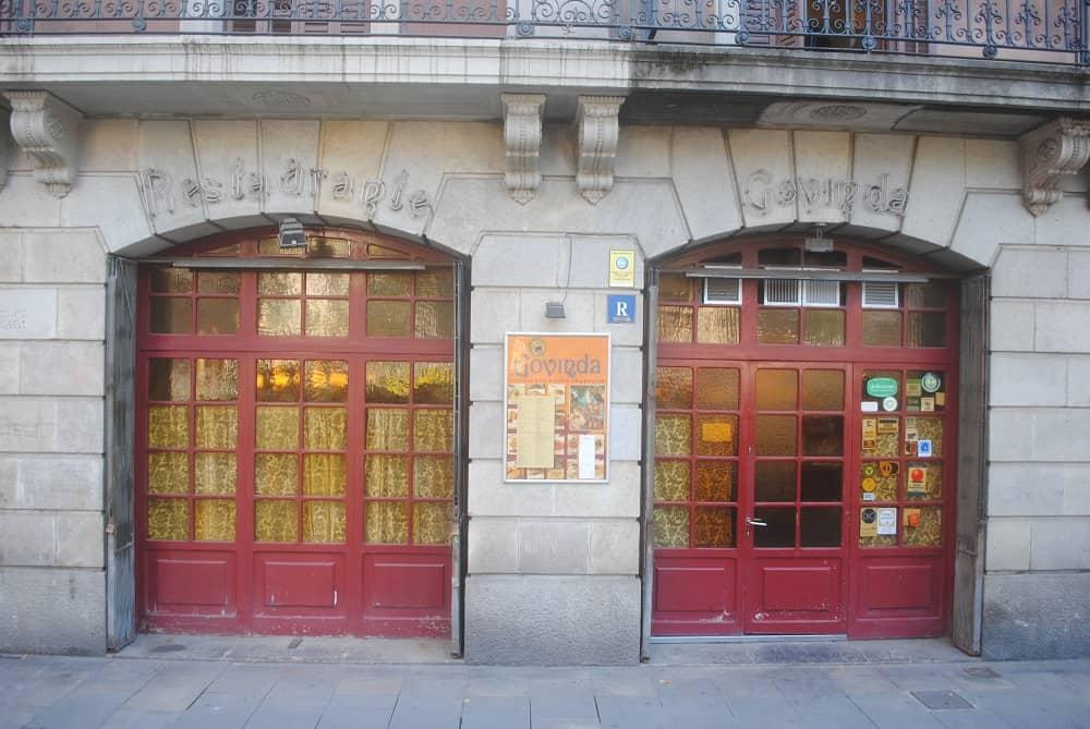 Govina Hindu Vegetarian Restaurant Barcelona