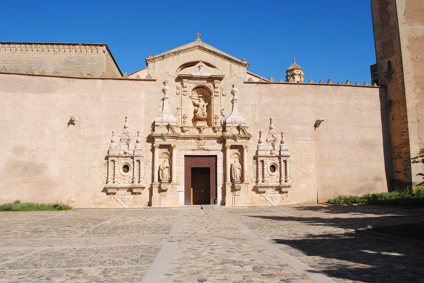 Poblet Monastery Front