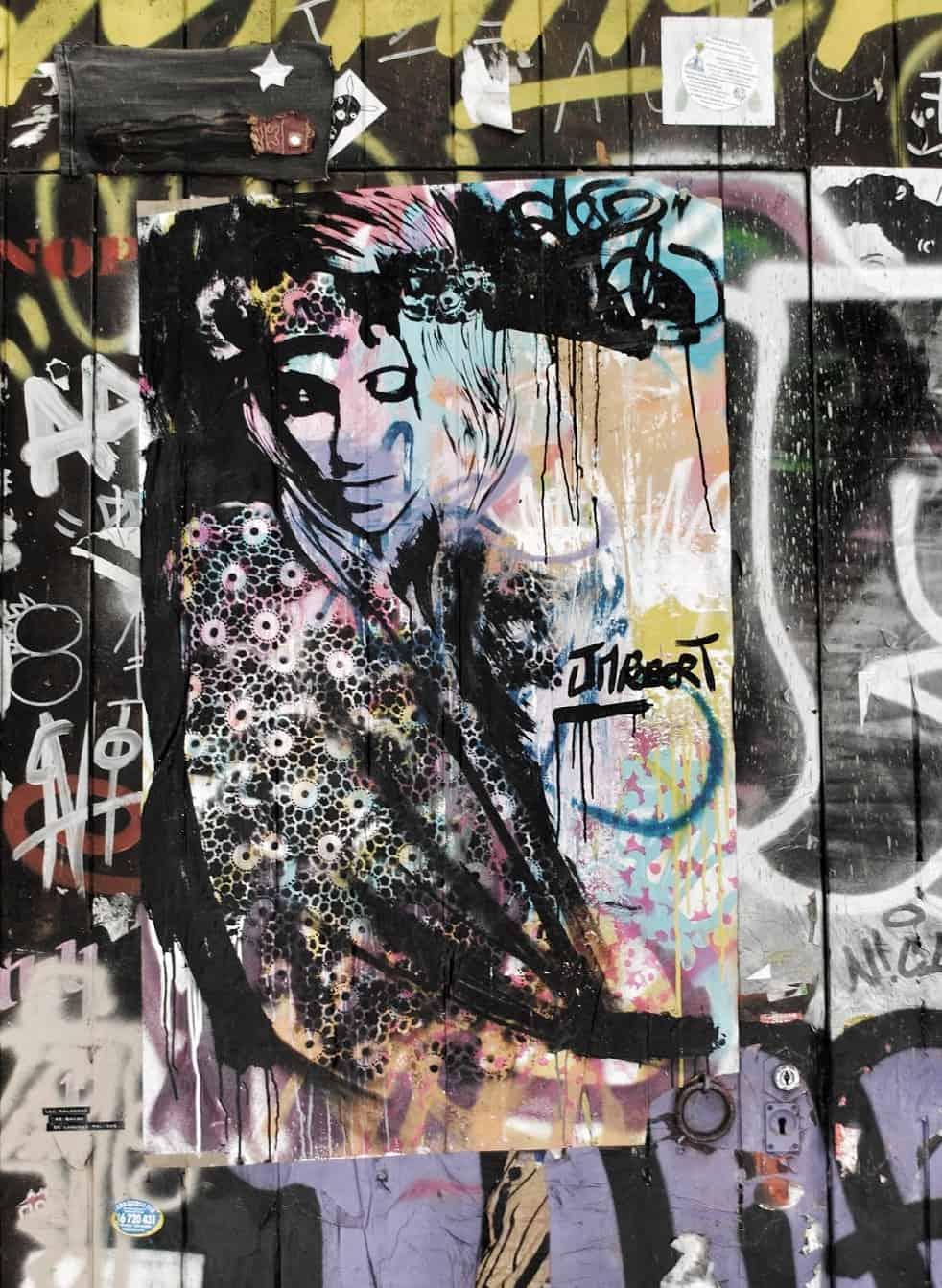 Barcelona Street Art, Carrer De La Palma Sant Just