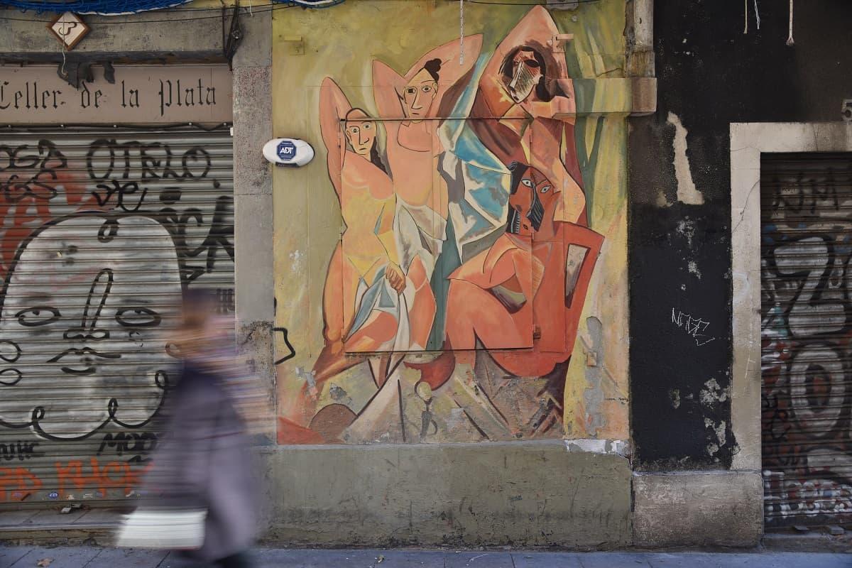 Les Demoiselles d'Avignon Mural