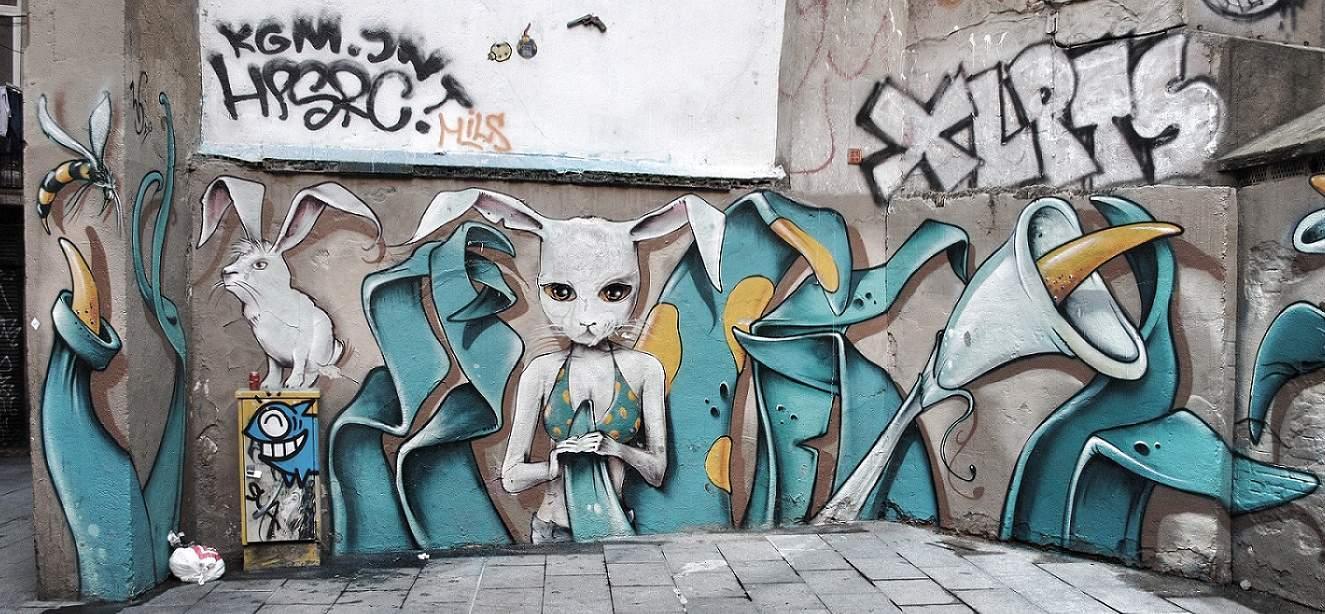 Graffiti Carrer de la Rosa