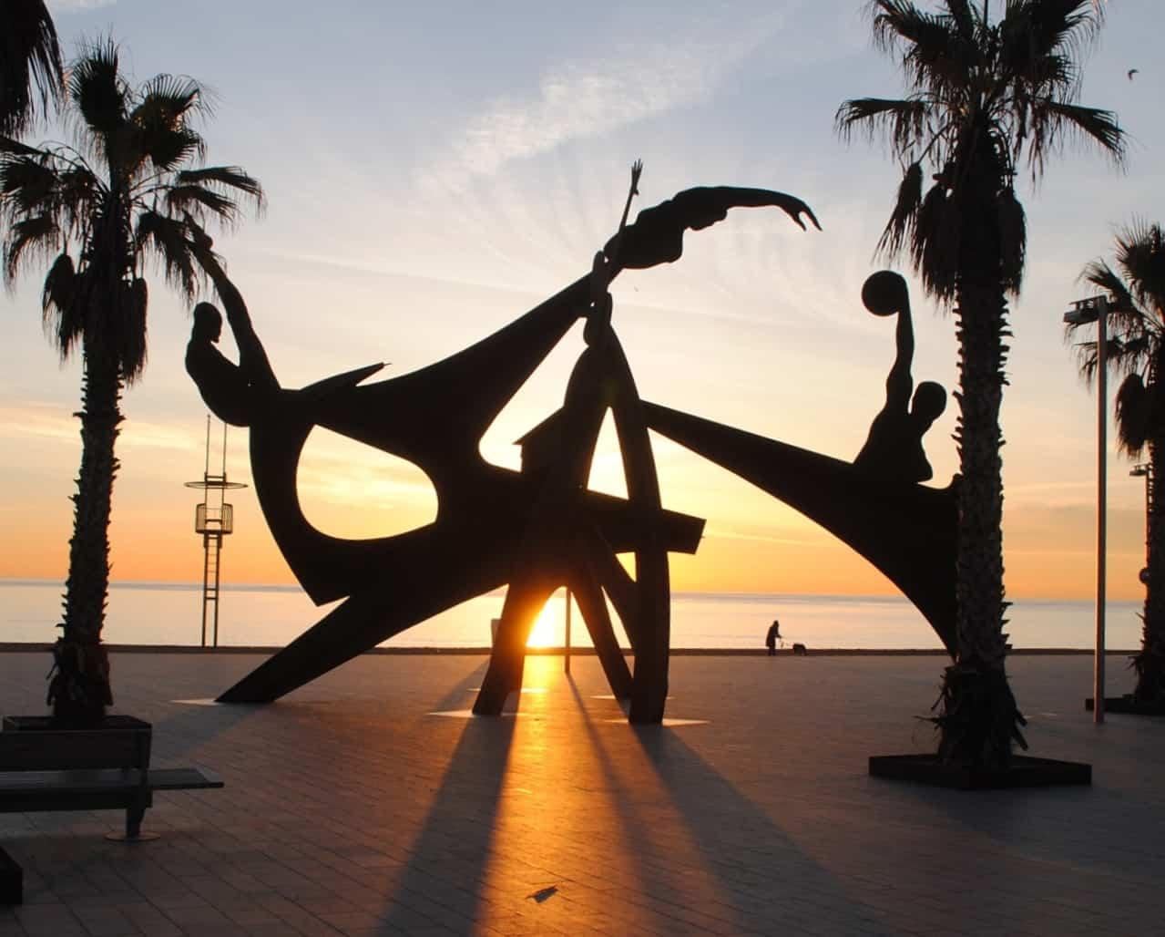Olympic Sculpture Barceloneta