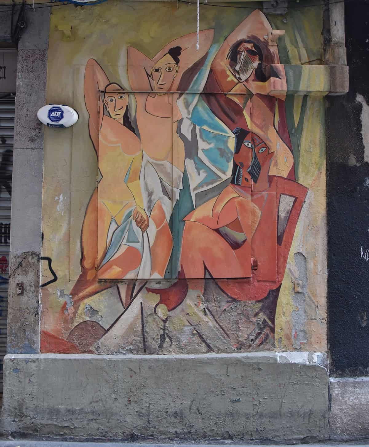 Picasso Street Art