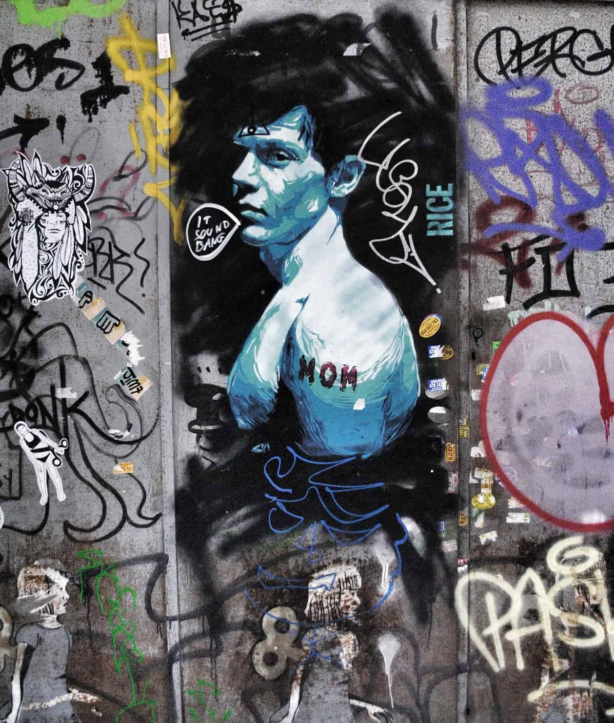 RICE Street Art, El Born, Barcelona