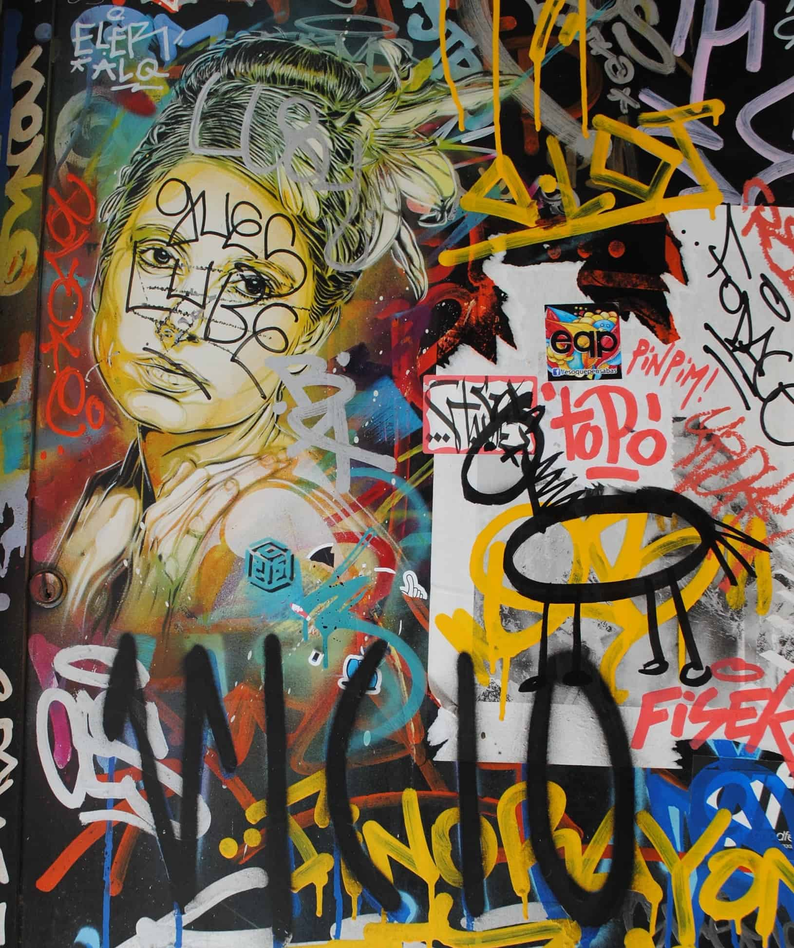 Street Art Barcelona El Born