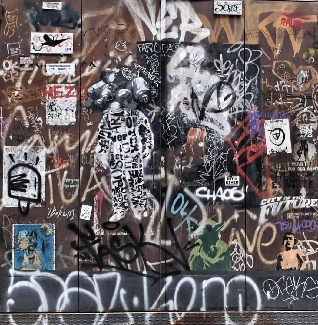 Street Art, Sant Antoni, Barcelona