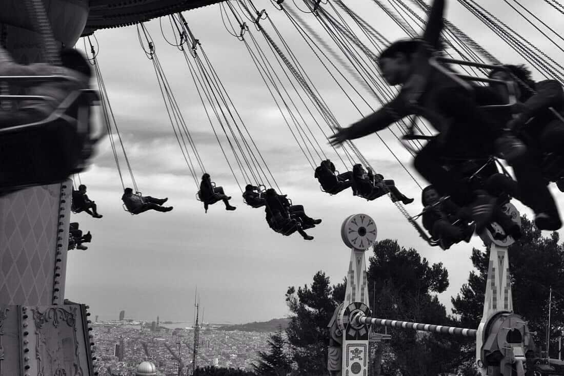 Tibidabo swings