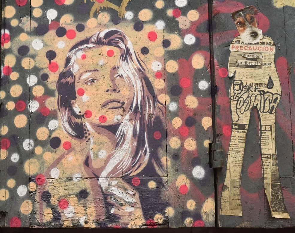 Street Art, Carrer Del Canvis Nous
