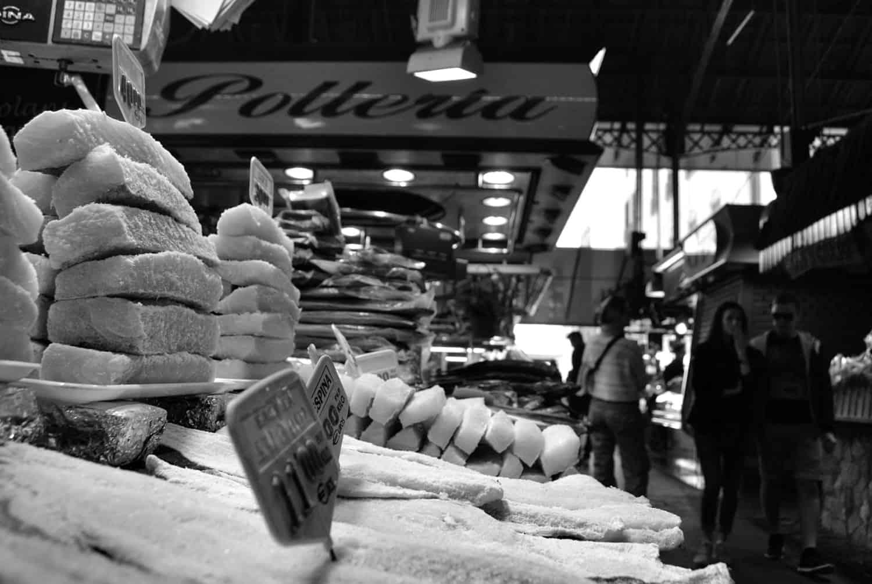 La Boqueria Market Bacalao Cod