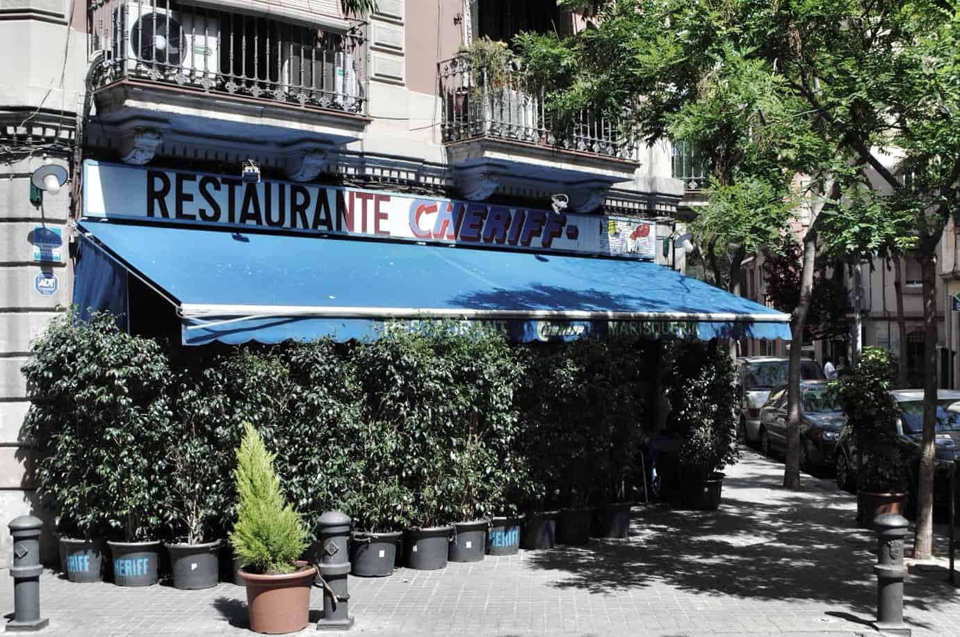 Restaurante Cheriff, Barcelona