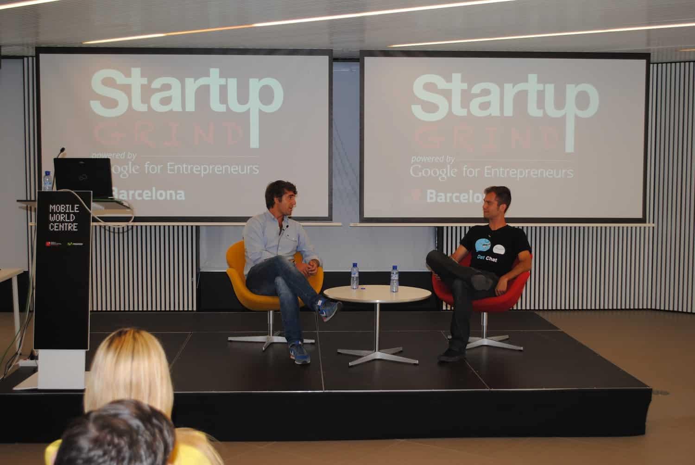 Marcos Alves and Àlex Rodríguez Startup Grind