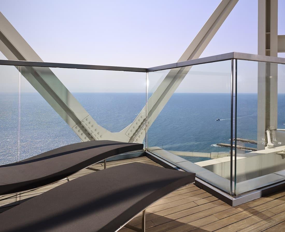 Hotel Arts Barcelona Balcony