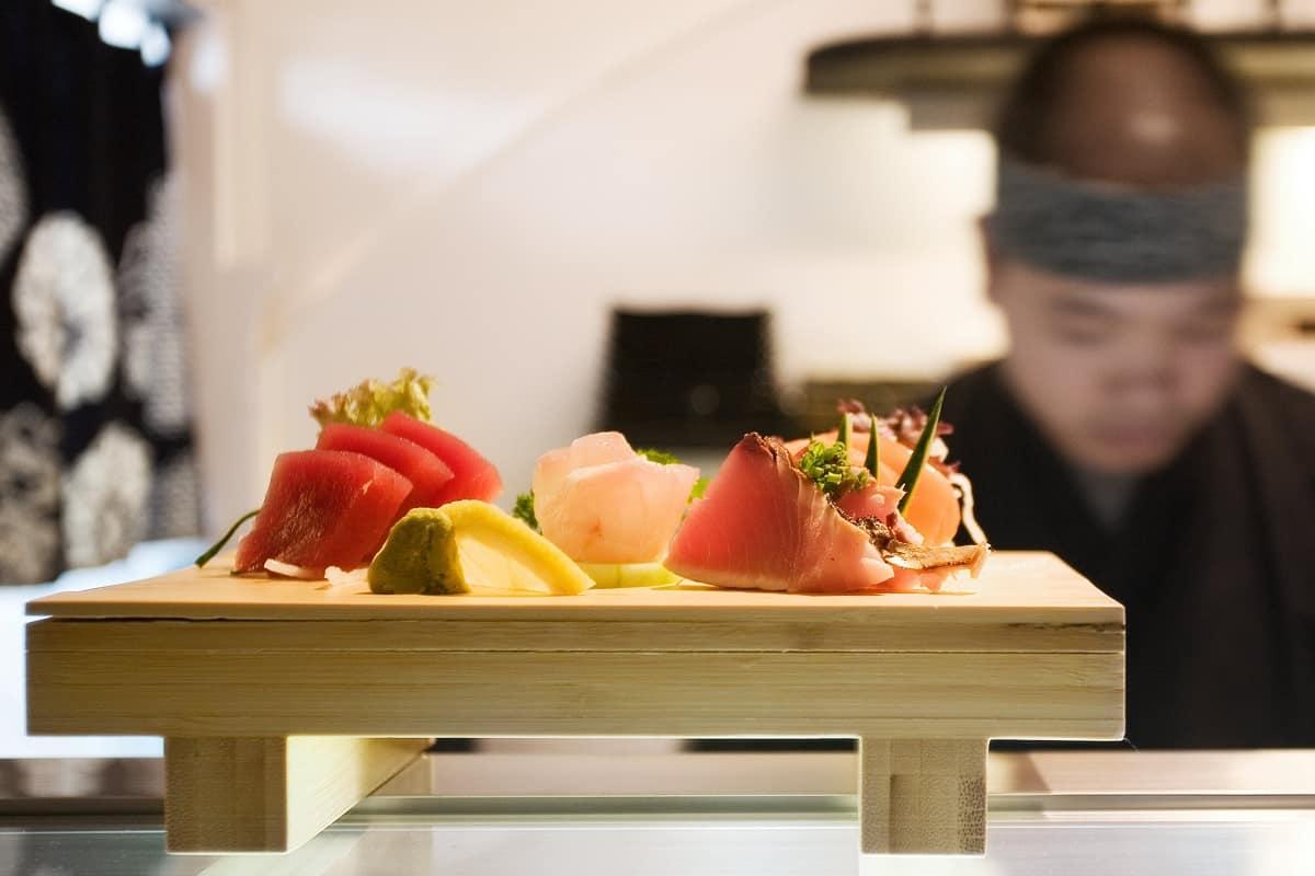 Kibuka Verdi - Sashimi variado en pase