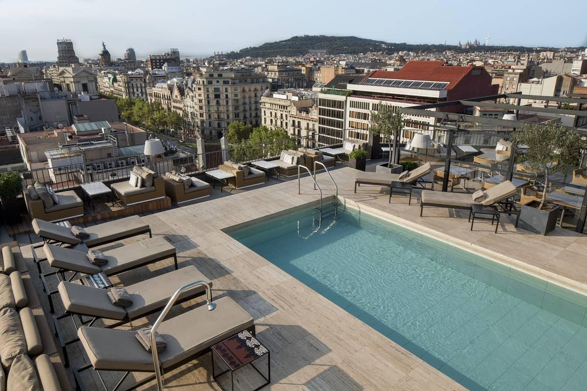 Hotel Majestic Roof Terrace Barcelona