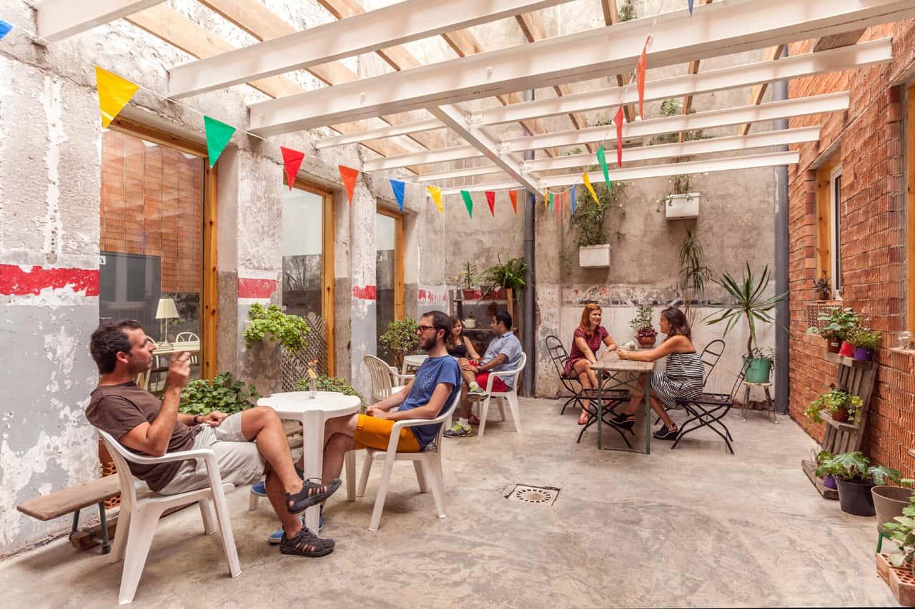 betahaus Barcelona patio