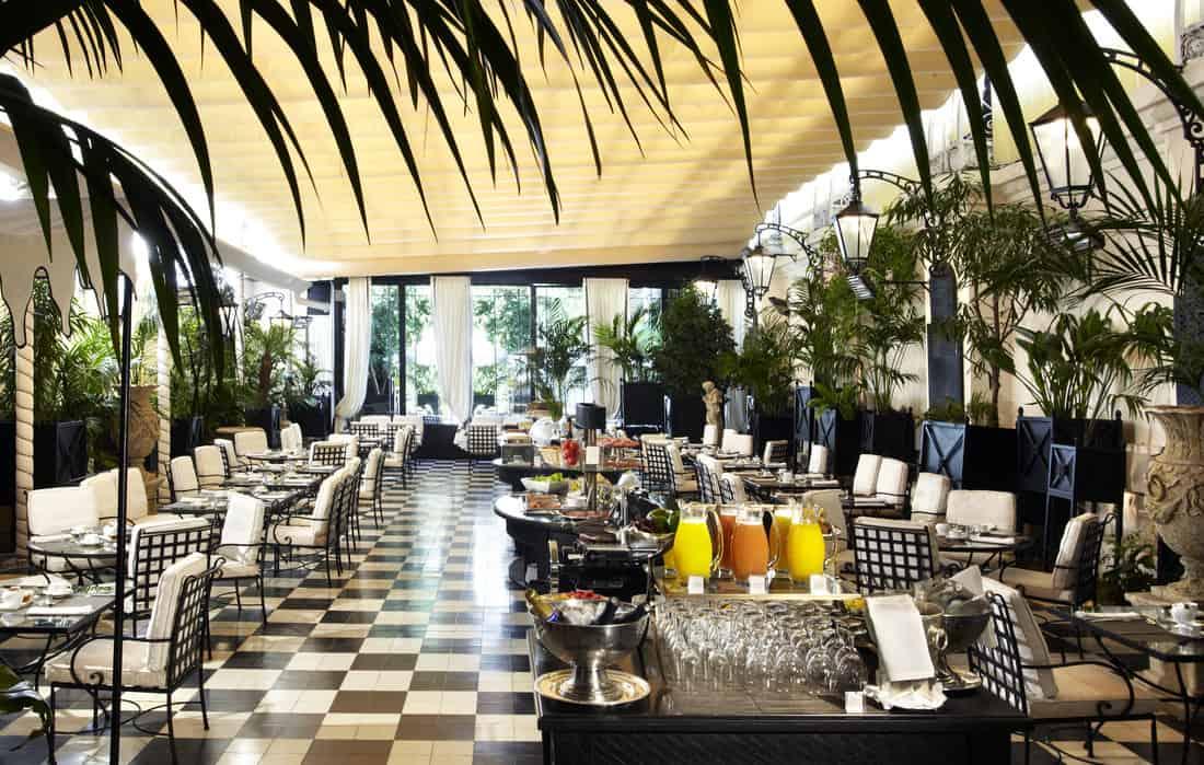 El Palace Hotel Barcelona Conservatory