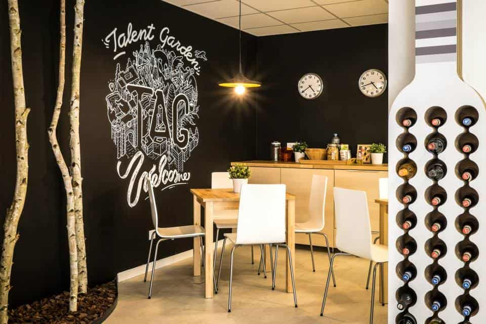 Talent Garden Barcelona Lounge
