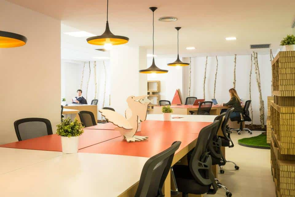 Talent Garden Barcelona Desks