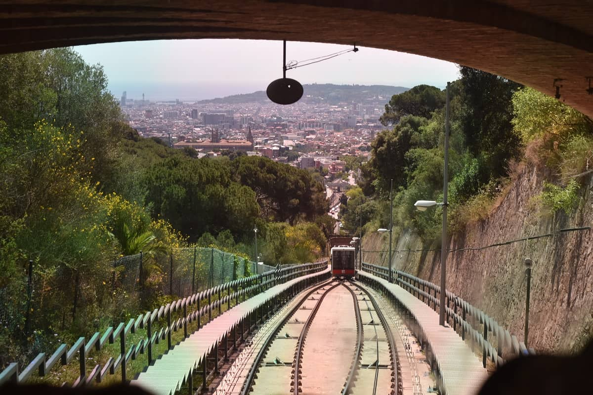 Funicular to Vallvidrera Superior Station