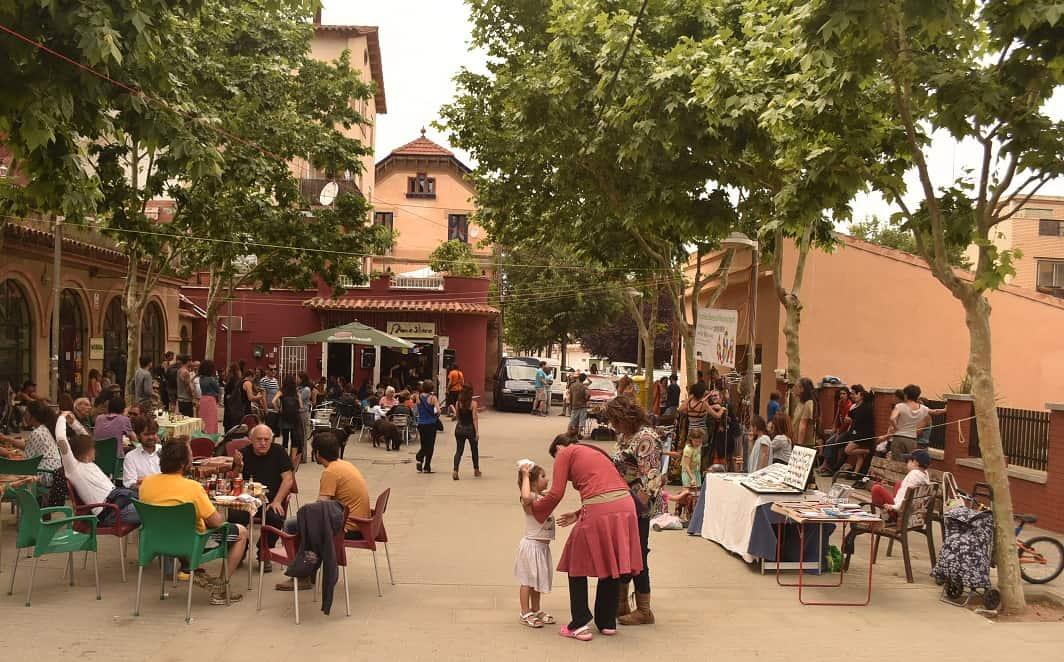 Plaça Miquel Ros, La Floresta