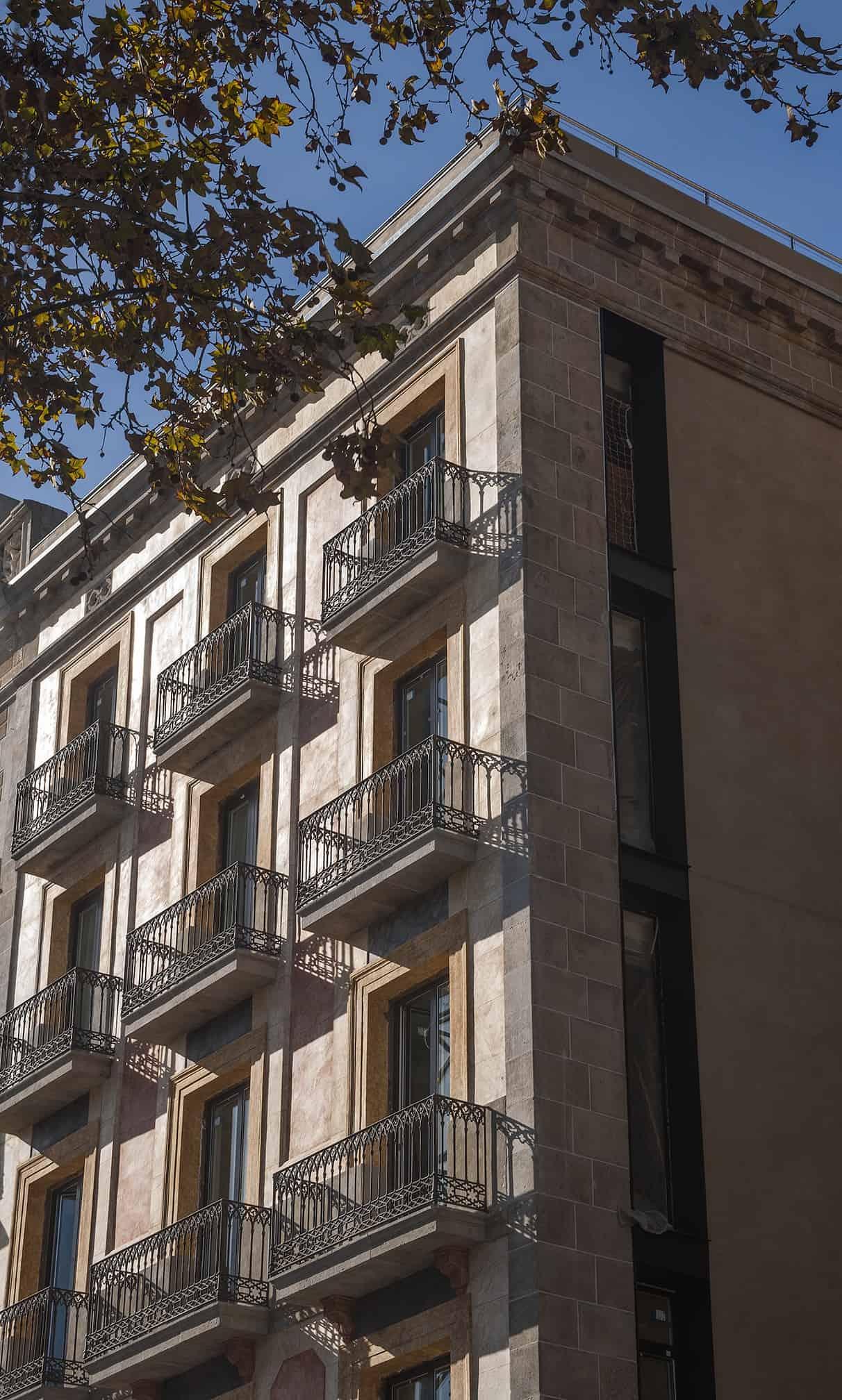 The Serras Hotel Exterior