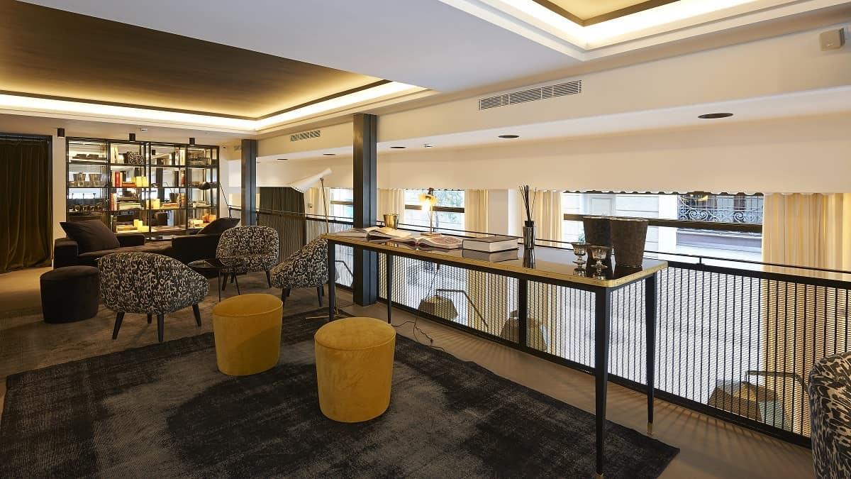 The Serras Hotel Library