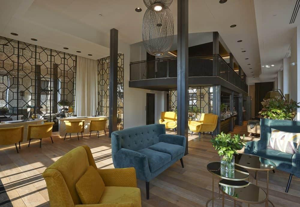 The Serras Hotel Lobby