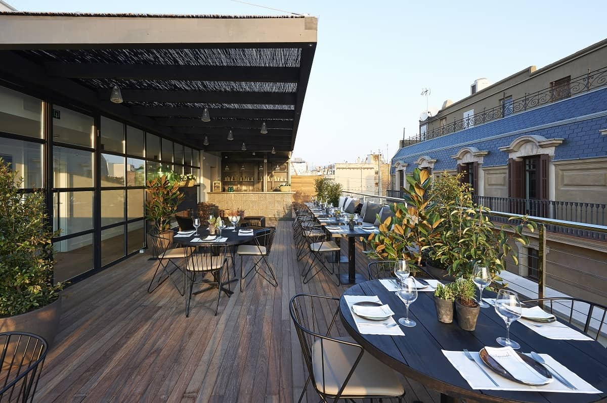 The Serras Hotel Roof Terrace