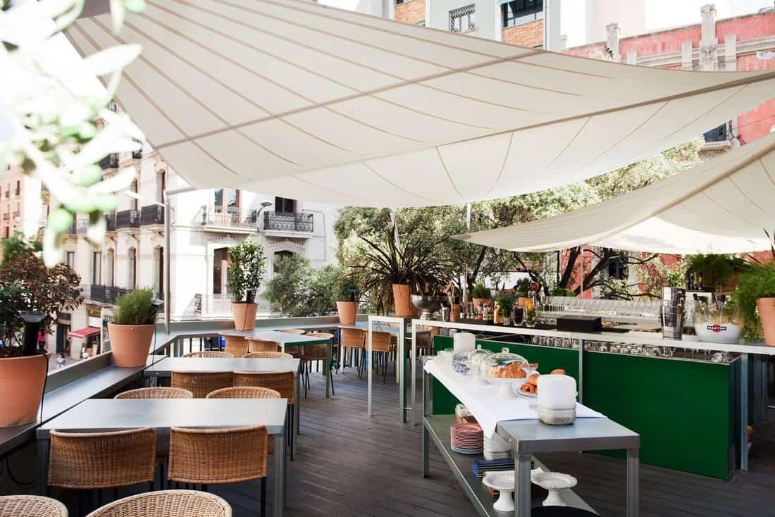 El Cercle Roof Terrace Barcelona