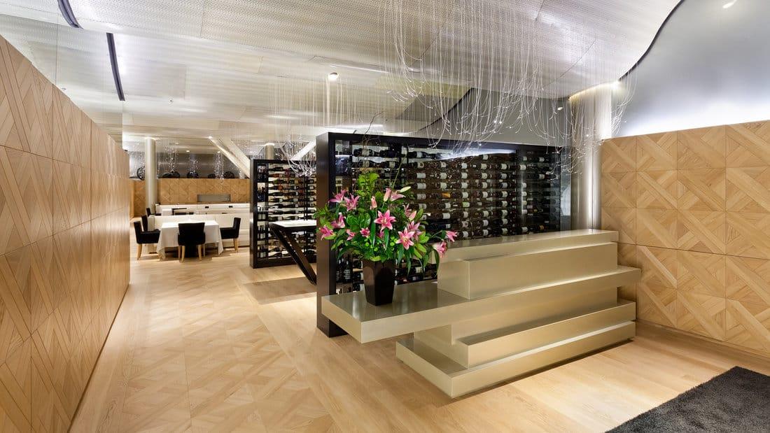 Lasarte Restaurant Interior