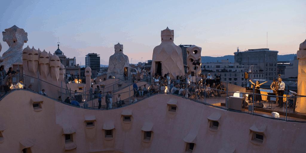 Summer Nights At La Pedrera Barcelona Navigator